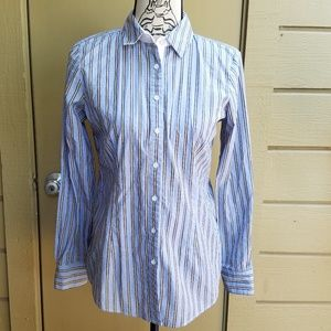 Brooks Brothers Striped Button Down